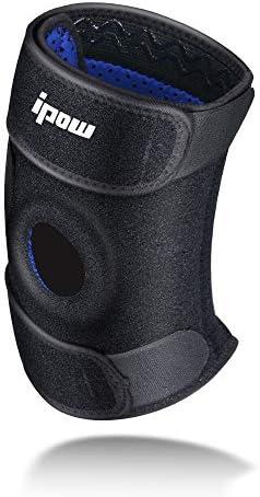 Ipow® Soporte deportivo para rodilla, protecciones rodilla ...