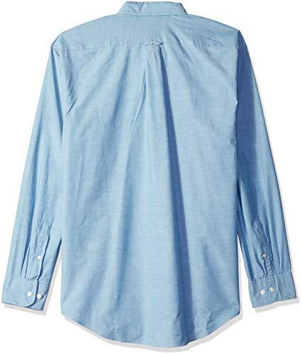 IZOD-Men-039-s-Newport-Oxford-Solid-Long-Sleeve-Shirt-Choose-SZ-color