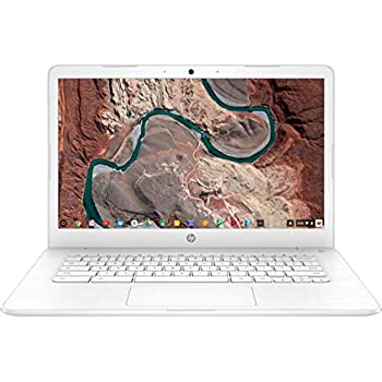 Newest HP 14-inch Chromebook HD SVA (1366 x 768) Display, Intel Dual Core Celeron N2840 2.16GHz, 4GB DD3L RAM, 16GB eMMc Hard Drive, Bluetooth, HDMI, ...