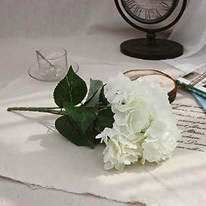 FlowersMagnate 1 Branch Polyester Plastic Azalea Tabletop Flower Artificial Flowers 31 50