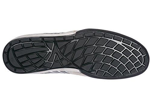 251 Dsquared2 Nuove Scarpe Uomo Bianco Sneakers Pelle in AYrAwv