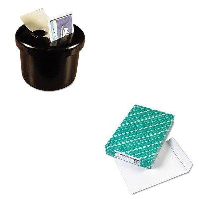 KITLEE40100QUA43617 - Value Kit - Quality Park Redi-Seal Catalog Envelope (QUA43617) and Lee Ultimate Stamp Dispenser (LEE40100)