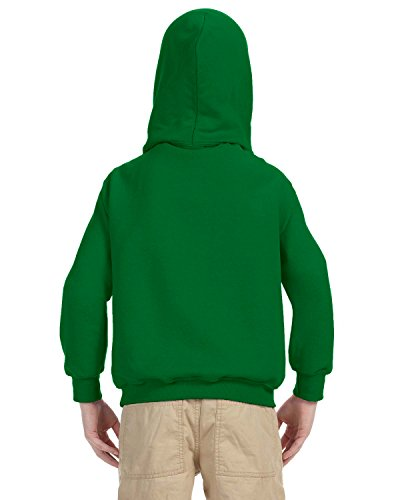 Indica Plateau Kids Hoodie Straight Outta Retirement X-Small Kelly Green Hoodie by Indica Plateau (Image #3)