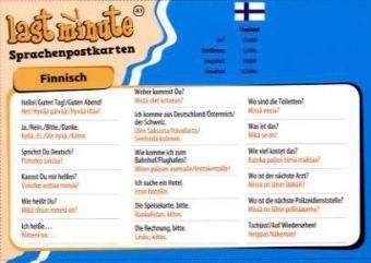 Last Minute Finnisch: 10 Sprachpostkarten