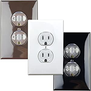 Clear Outlet Covers – Value Pack 50 Count Premium Quality...