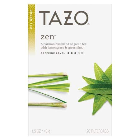 Tazo Zen Green Tea, 20 Count