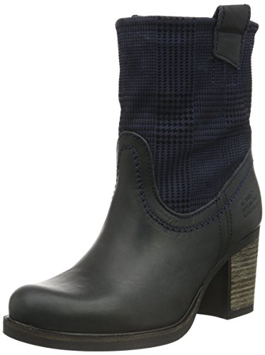 Bullboxer Damen 743m75765a Cowboy Stiefel Zwart (p516)
