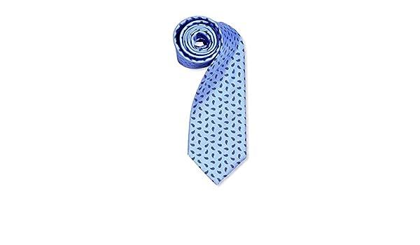 Lester Corbata Lágrima Oxford Azul Medio/Azul: Amazon.es: Ropa y ...