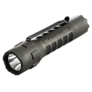 Streamlight 88850 PolyTac LED Flashlight with Lithium Batteries, Black