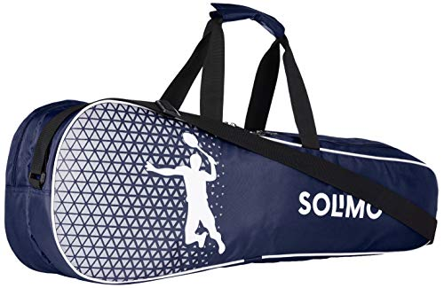 Amazon Brand – Solimo Badminton Kit Bag, Rapid, Blue