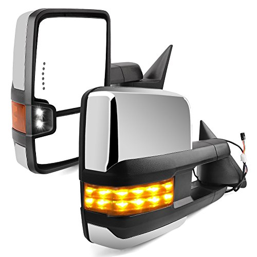 ECCPP Towing Mirrors for 1988-1998 Chevy GMC C//K 1500 2500 3500 Power Pair Side