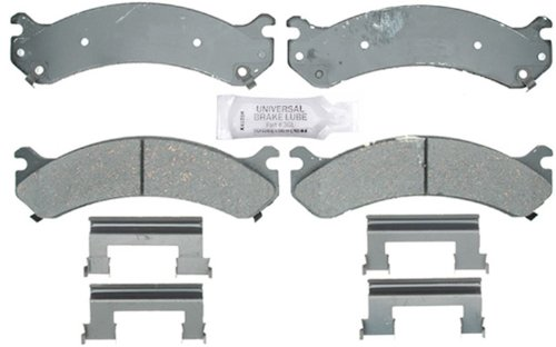 ACDelco 17D784CH Professional Ceramic Front Disc Brake Pad Set