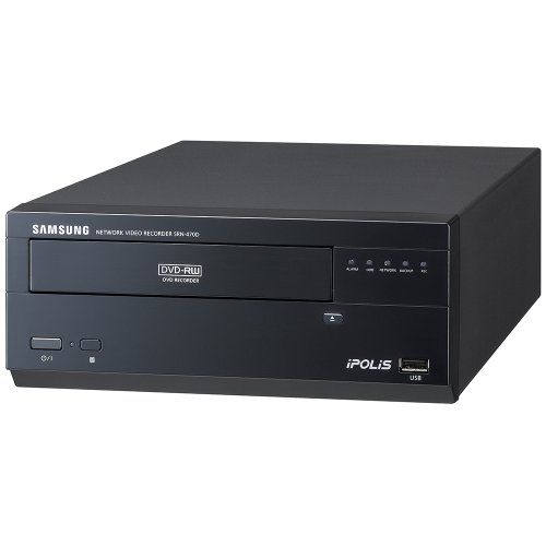 work Video Recorder 4CH Network Video Recorder 500GB / SRN-470D-500GB ()