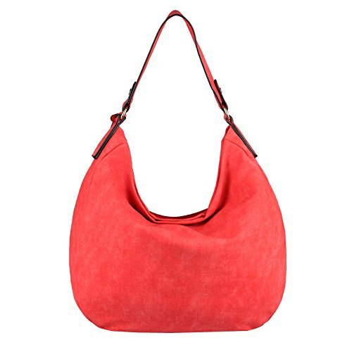 bxhxt Bolso Hombro couture Pardo Ca Al Para Cm Only beautiful 40x33x13 Marrón Mujer 33x30x12 Obc Rojo A1qTxOHwn