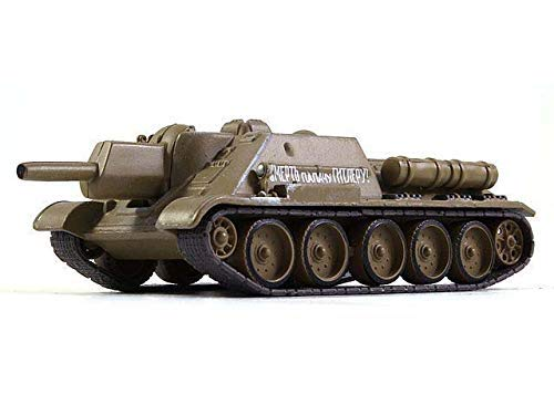 Russian Tanks SU-122 Soviet Self-propelled Howitzer 1942 Year WWII 1/72 Scale Diecast Model