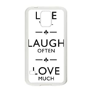 Live Laugh Love For Samsung Galaxy S5 I9600 Phone Cases ARS142206