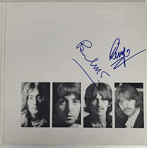 - Beatles Paul McCartney Ringo Starr Signed Autographed White Album Beckett BAS - Beckett Authentication