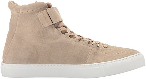 K-Swiss Mens High Court Suede Sand/Off White discount outlet locations YoN6rm