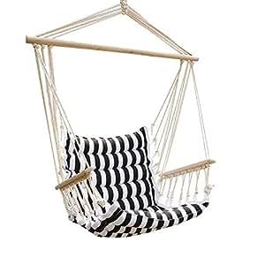 Amazon.com : UHOM Hanging Hammock Swing Chair Patio Seat ...