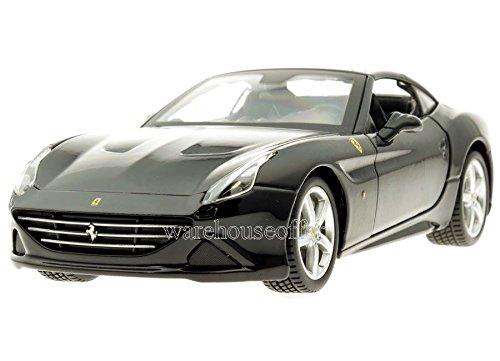 Bburago 1:24 W/B - Ferrari Race & Play - Ferrari California T (Closed Top) - Black by Bburago Collection