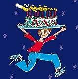 Woodmansterne Birthday Card (3906) - Quentin Blake - Cake Man!