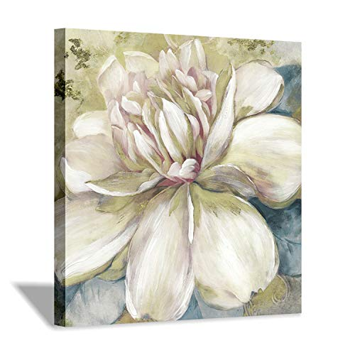(Abstract Flower Canvas Wall Art: Floral Graphic Artwork Print Painting for Wall Decor (24''x24''))