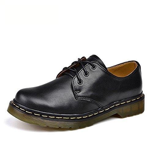 直感危険発行するおおきいサイズ 革靴 レディース カジュアル レースアップシューズ オシャレ ワークブーツ 幅広 デッキシューズ ブラック?ホワイト?レッド