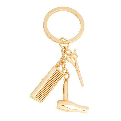 Used, NATTEL New Personality Hair Dryer Combs Scissors Pendant for sale  Delivered anywhere in Canada