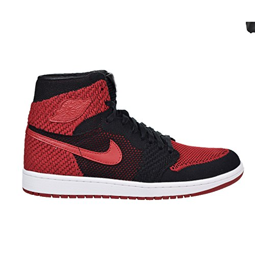 Air Jordan 1 Retro High Flyknit Banned mens casual shoes black/red NEW 919704-001