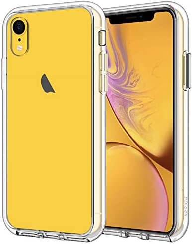 JETech Case Compatible with iPhone XR, 6.1-Inch, Shockproof Bumper Cover, Anti-Scratch Clear Back, Ultra HD