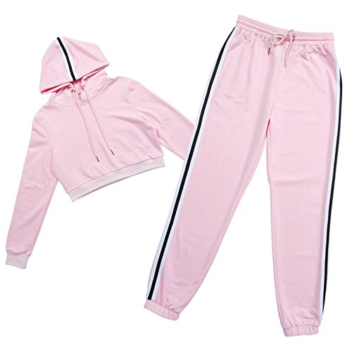 Used, Women Long Sleeve Sporting Suit Hoodies Sweatshirt+Pant for sale  Delivered anywhere in USA