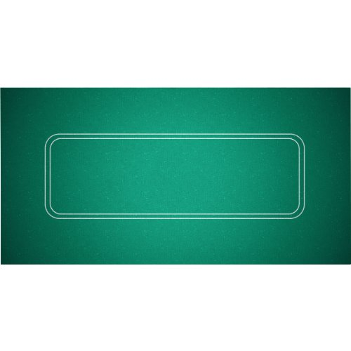 Trademark Poker Texas Hold'em Layout 36-Inch x 72-Inch