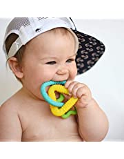Nuby Chewy Charms Boy/Train and Key Silicone Teether
