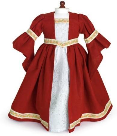 "Doll Clothes 18/"" Dress Renaissance Purple Carpatina Fits American Girl Dolls"