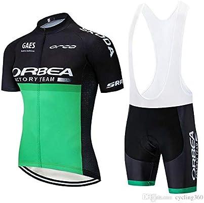 logas Completo Ciclismo Uomo Estivo Maglia Ciclismo Maniche Corte Squadra Professionale Tuta Ciclismo Uomo MTB