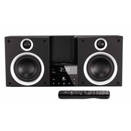 Logitech Pure Fi Mobile - Logitech Pure-Fi Elite High-Performance Stereo System for iPod (Black)
