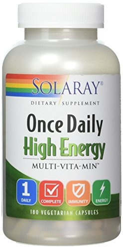 ONCE DAILY HIGH ENERGY MULTI    180 capsules Orotic Acid