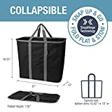CleverMade Collapsible Laundry Tote, Large Foldable