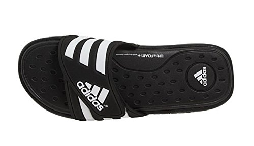 adidas Adissage Sc Black/White Sandals Na 12 by adidas