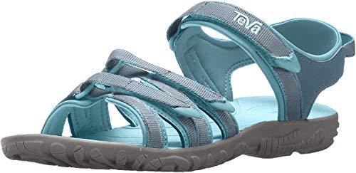 Teva Girls' Y Tirra Sport Sandal, Citadel, 5 M US Big Kid