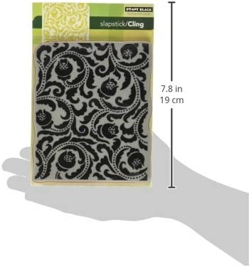Penny Black 40-136 Flower Flourish Cling Rubber Stamp