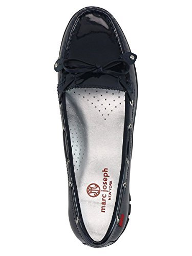 - Marc Joseph New York Women's Fashion Shoes Cypress Golf Moccasin Size 8.5 - Navy Patent