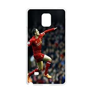 Samsung Galaxy Note 4 Cell Phone Case White Jordan Henderson VIU030224