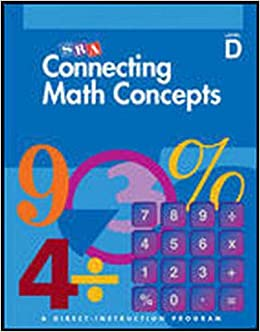 Connecting Math Concepts, SRA, Level D Answer Key: Siegfried