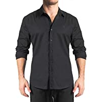 Camisa Stretch Listra Falso Liso