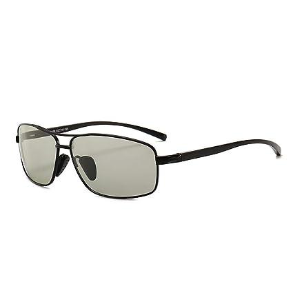 Shisky Gafas Deportivas, Gafas de Sol fotocromáticas polarizadas Conducir día y Noche Cambia de Color