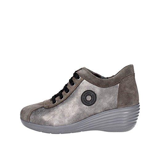 Donna Stonefly Sneakers N08 Grigio Bassa 107422 xA4Angr