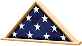 product image for Ceremonial Flag Display Triangle case is Available in Oak