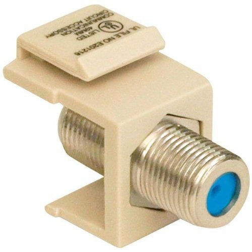 Datacomm 20-3202-LA Keystone Jack with 2.4 GHz F-Connector (Light ()