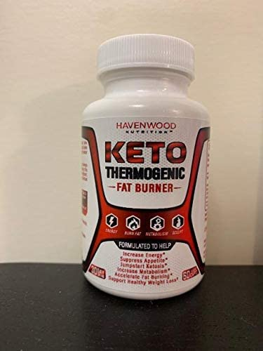 Keto Diet Pills. Thermogenic Fat Burner Weight Loss Supplement for Men and Women. Formulated to Burn Fat for Fuel, Suppress Appetite, Increase Metabolism. 30 Day Supply